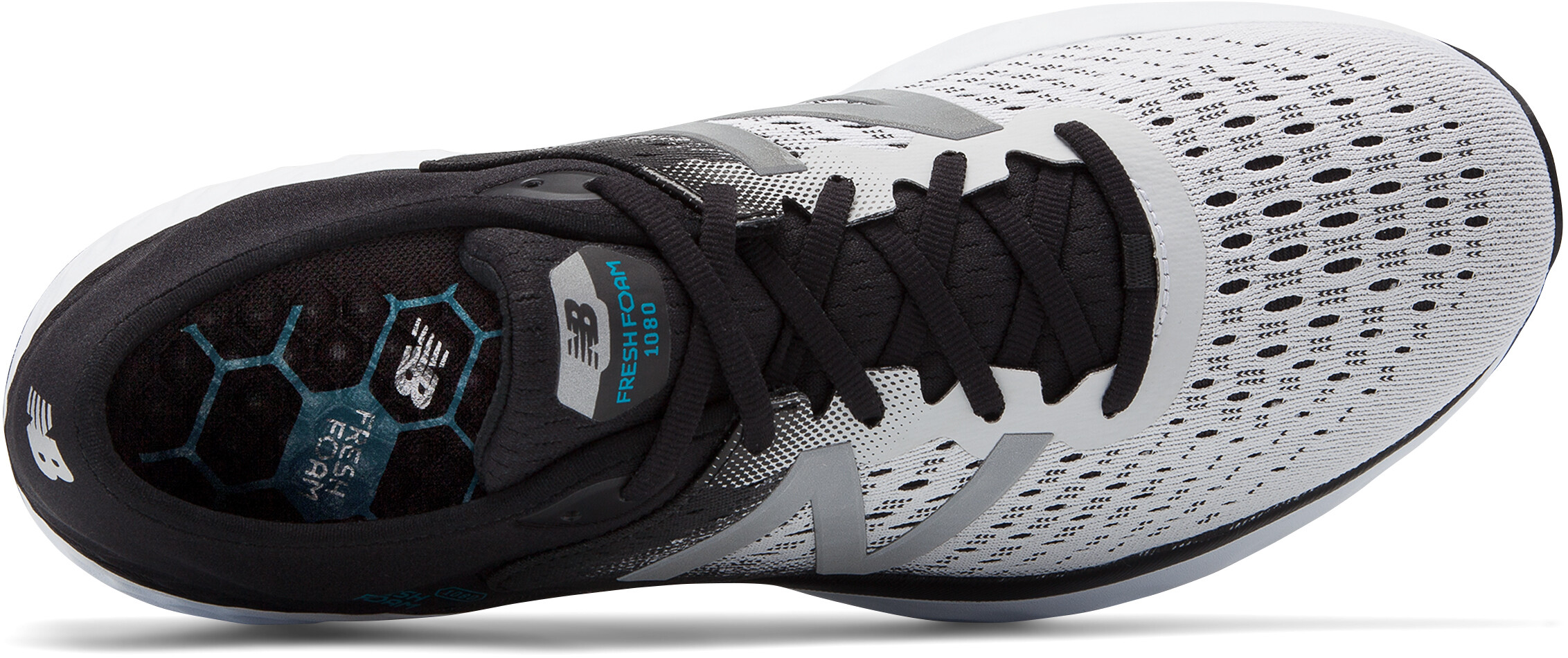 9094214fbc4 New Balance 1080 V9 - Chaussures running Homme - blanc noir ...